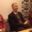 Föreningen SIMON Viva bjöd in intresserade till samtal med riksdagsledamoten Johan Pehrson (fp).